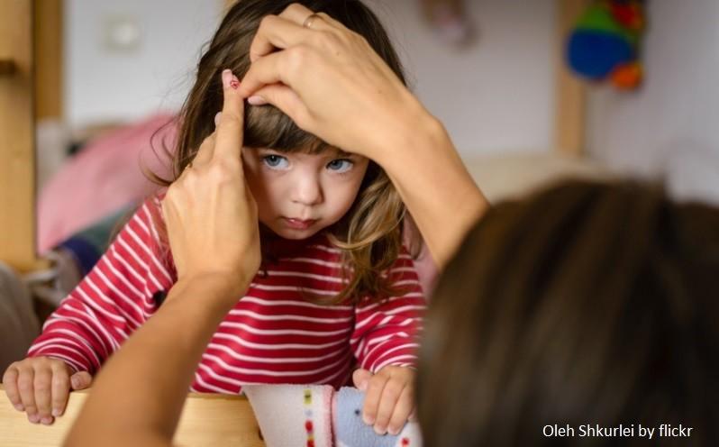 Прическа дочке в школу