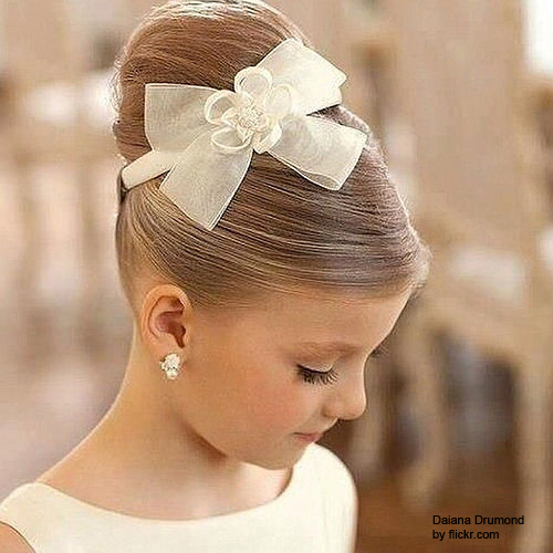 Причёски на свадьбу девочке 12 лет