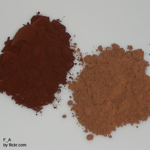 При использовании какао седина начнет приобретать каштановый цвет
