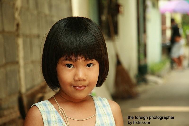 боб - одна из удобных причесок для детей