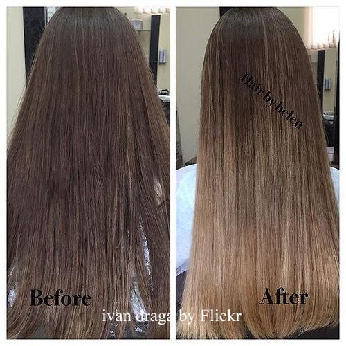 шатуш на темные длинные волосы фото