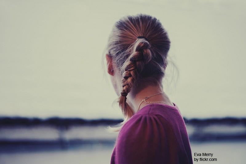 коса - самое простое и удобное плетение