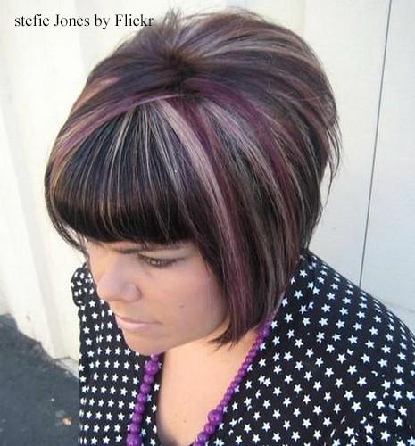 Колорирование на мелированные волосы - 5b67