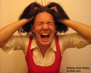 постоянный стресс может привести к ранней седине