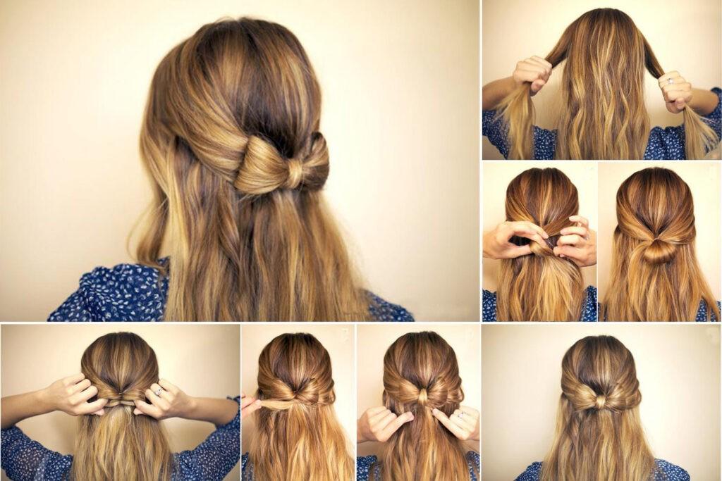 Красивые прически на не очень длинные волосы