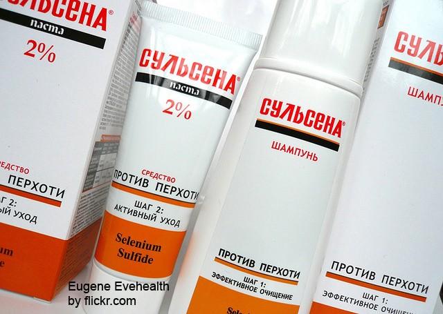 Сульсена – шампунь и паста с активным веществом дисульфид селена