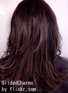 Балаяж на длинных волосах