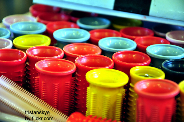 Пластиковые бигуди долговечны