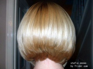 Объемный блонд