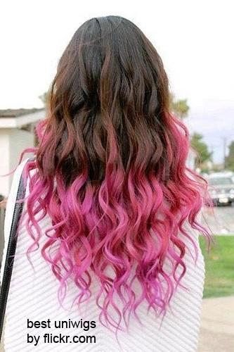 Как хорошо покрасить концы волос