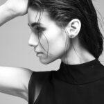 мокрый эффект на мокрых волосах