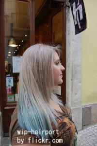 Длинные волосы визуально вытягивают щеки