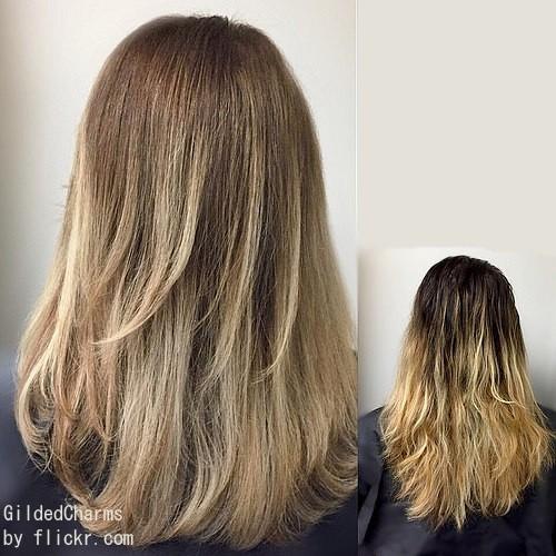 Зд окрашивание оживит и волосы, ранее окрашенные в два цвета
