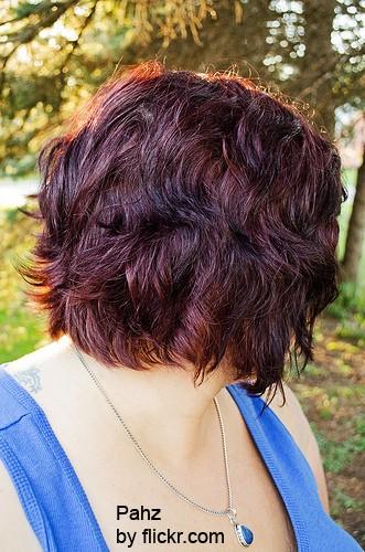 Эффект мокрых волос разнообразит прическу