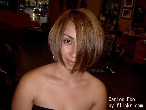 3д окрашивание волос для брюнеток