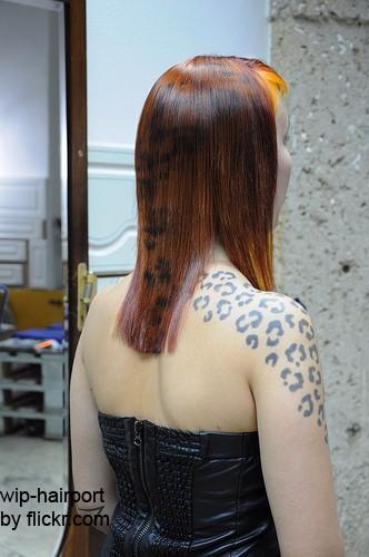«Окрас леопарда»