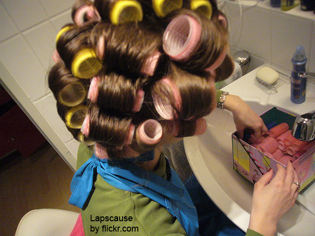 Бигуди-липучки могут быть разных диаметров для любой длины волос