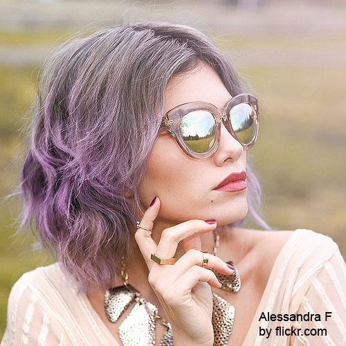 Покрасить кончики волос в домашних условиях фото