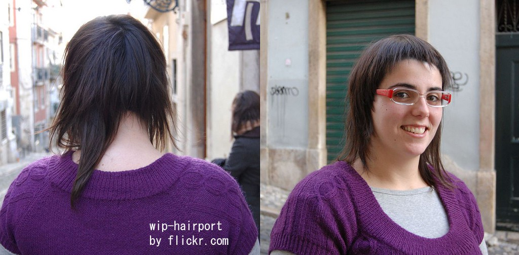Стрижка на средние волосы полненьким