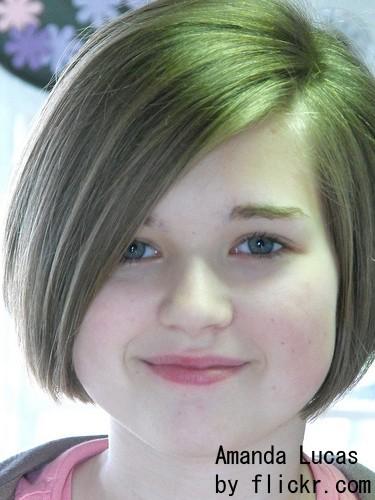 Стрижки на длинные волосы с челкой для девочек 12 лет