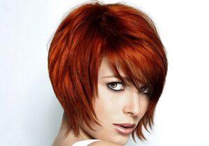 Каре-каскад на короткие волосы