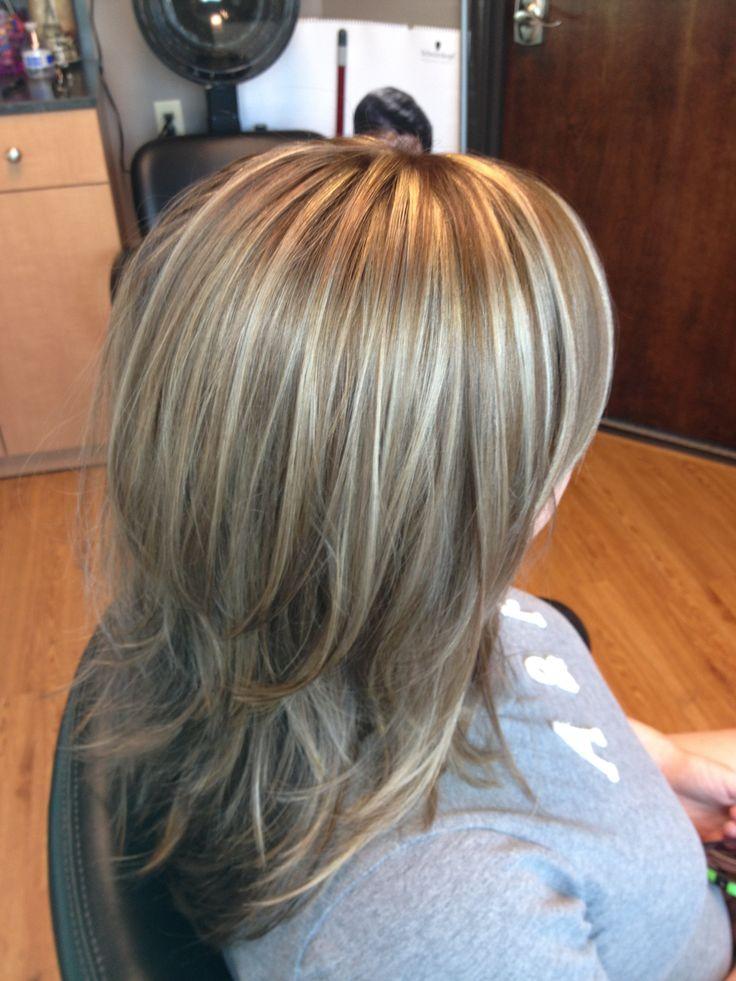 КАре-каскад на длинные волосы
