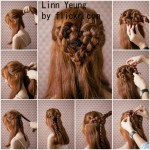 Сердечко из кос