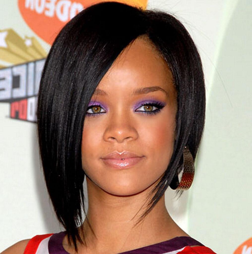 Rihanna bob haircuts