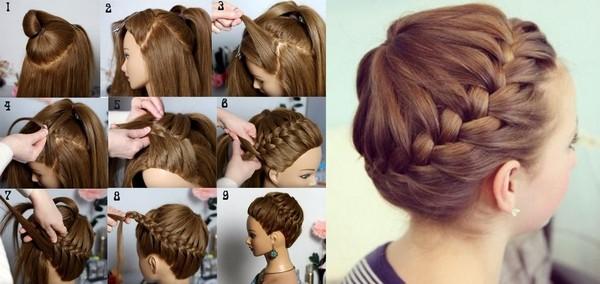 Как ребёнку заплести волосы