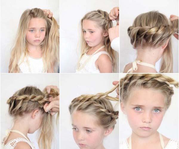 Как плести жгут из волос пошаговая инструкция