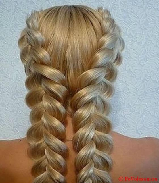 Косички на длинные волосы и как плести