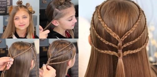 Как можно волосы заплетать