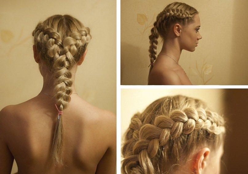 прически две косы на длинные волосы