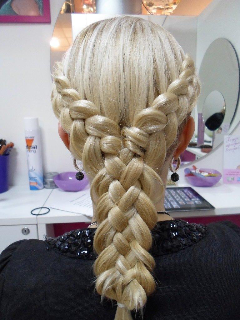 Как самой плести косу легко