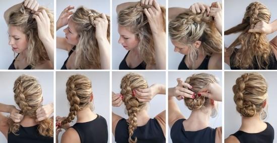 Плетение кос : идеи причесок, пошаговые фото и схемы плетения 26