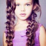 Заплетение волос для детей