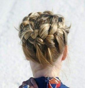 Корзинка из волос пошаговая инструкция