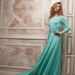 Прически под длинное платье