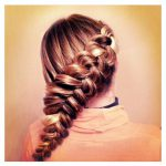 Как заплести вывернутую косу