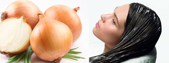 курс луковой маски для волос