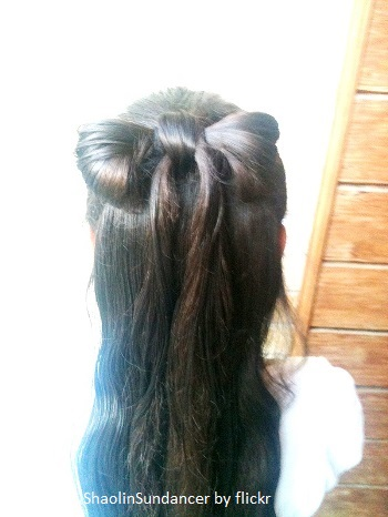 Бант для волос