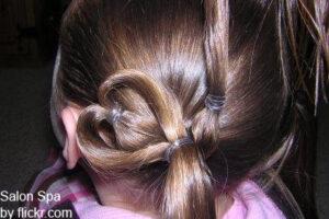 плетение с хвостиками