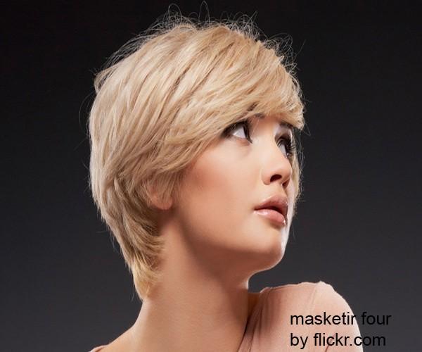 градуированная стрижка - хороший вариант для обладательниц квадратной формы лица