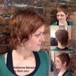 Возможны варианты с вьющимися волосами