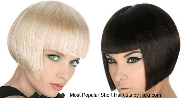 каре Most Popular Short Haircuts