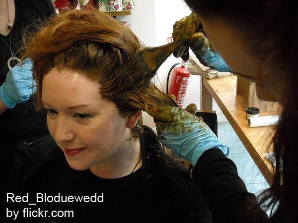 Натуральная краска не нанесет вреда волосам