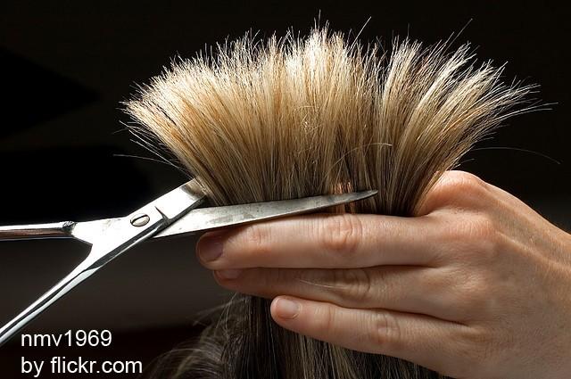 Секущиеся концы лучше подстригать регулярно