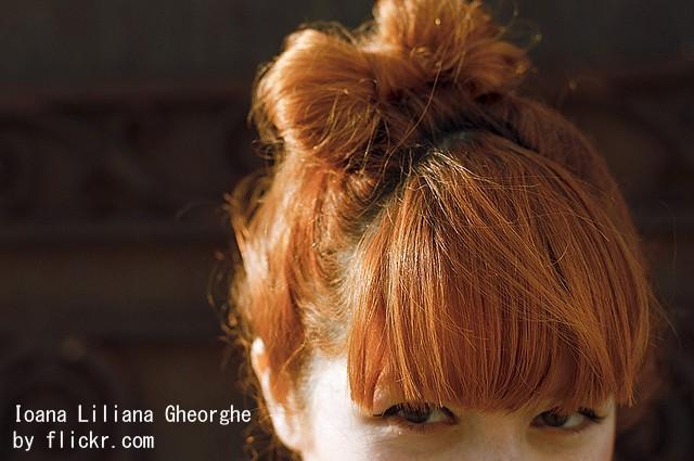 «Бант» из волос