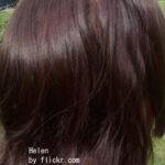 Хна и басма в равных пропорциях дает шоколадный цвет