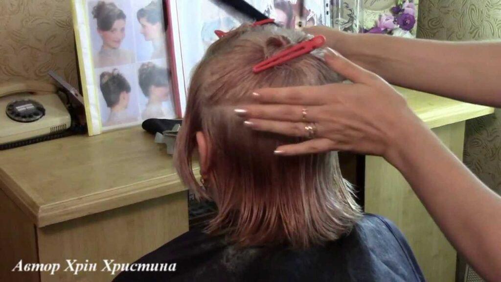 Техника подстрига каре-каскад
